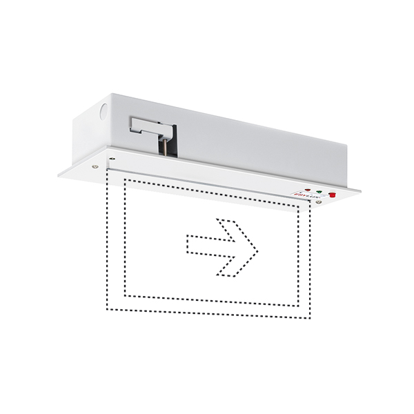 SLC LEDi SC/C recessed ceiling mounting
