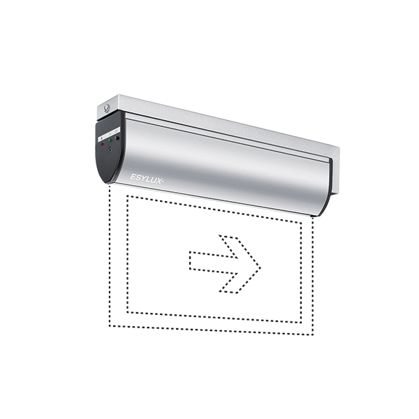SLD LEDi SC/C wall bracket mounting